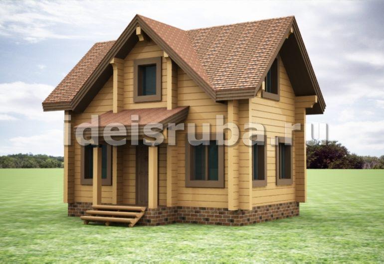 Опушка Дома из бруса