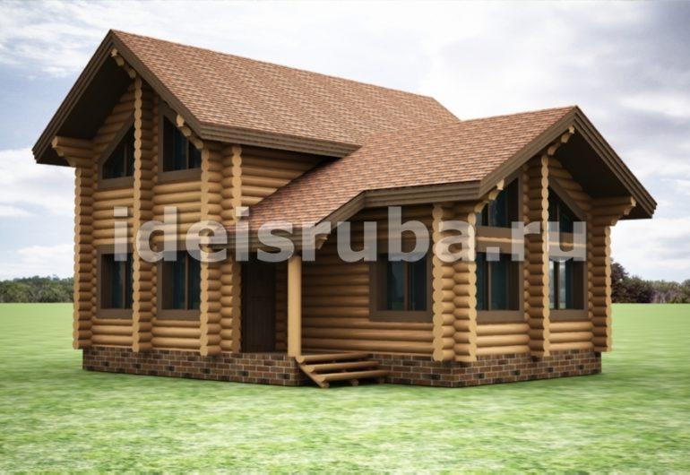 Таежный Дома из бревна
