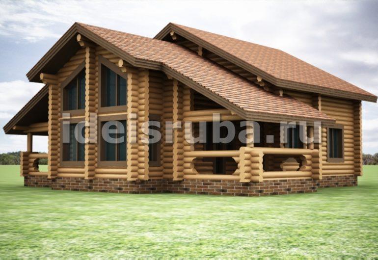 Каравелла Дома из бревна