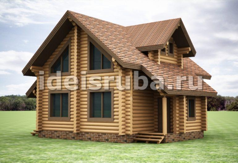Дубрава Дома из бревна