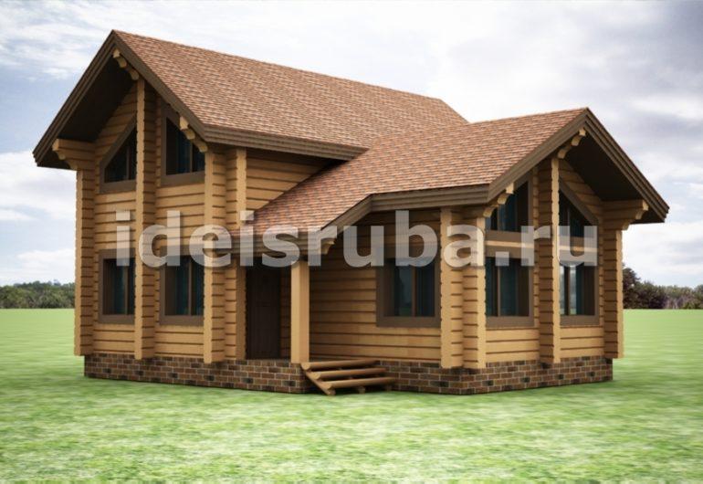 Таежный Дома из бруса