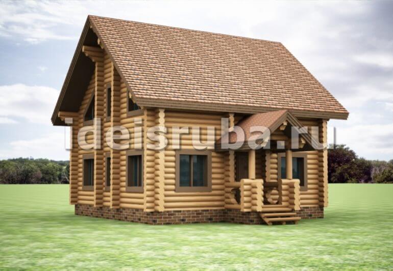 Сосновый бор Дома из бревна