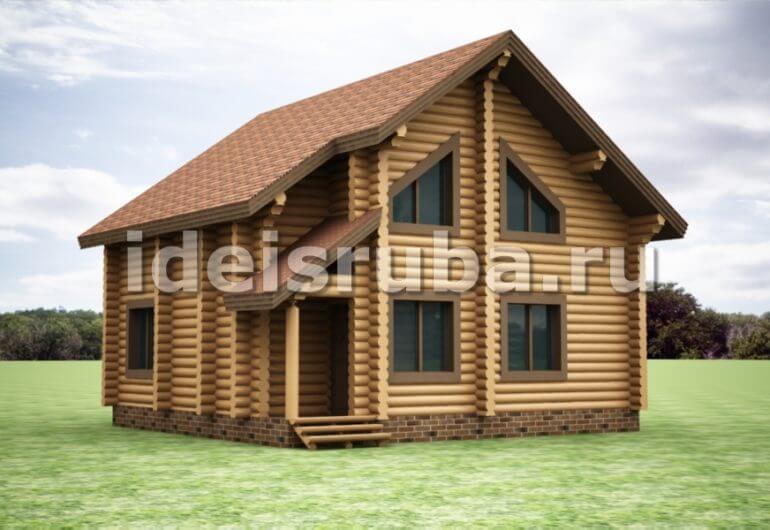 Сибирь Дома из бревна