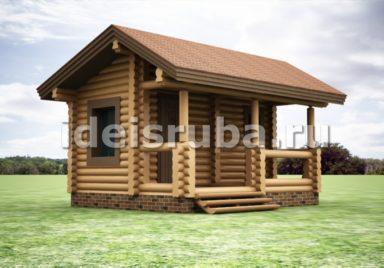 Баня Росинка Бани из бревна