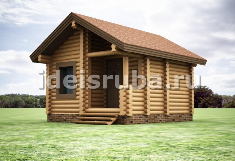 Баня Заря Бани из оцилиндрованного бревна