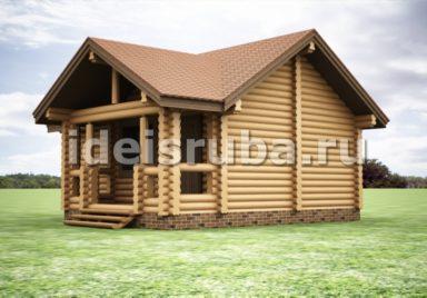 Баня Рассвет Бани из бревна