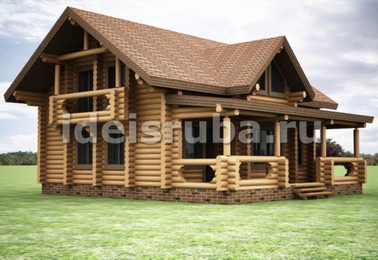 Гармония Дома из бревна