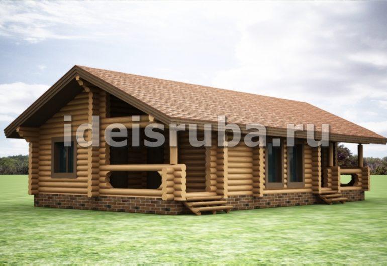 Медвежий угол Дома из бревна