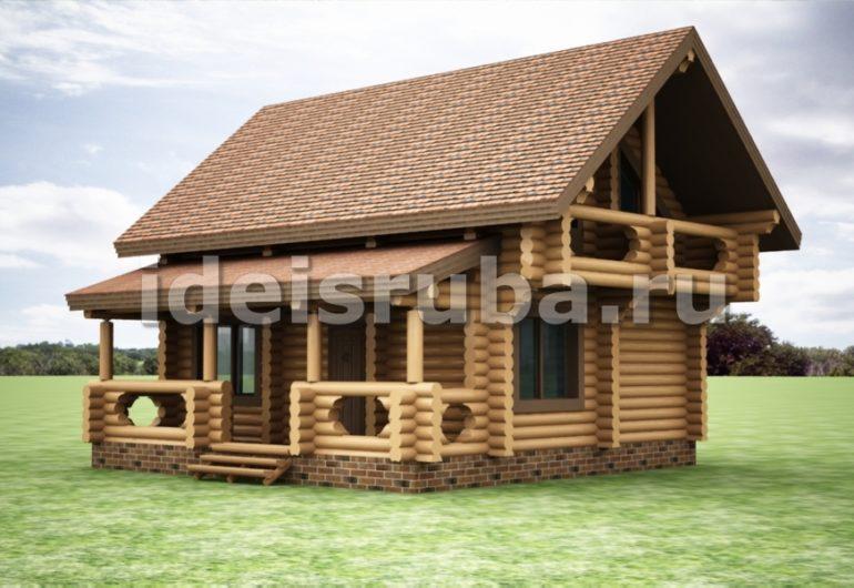 Байкал Дома из бревна