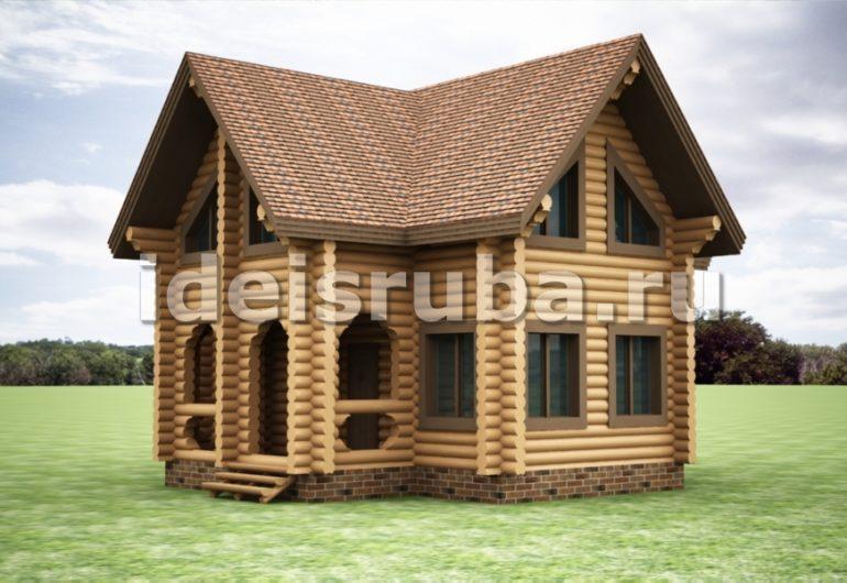 Лесничий Дома из бревна