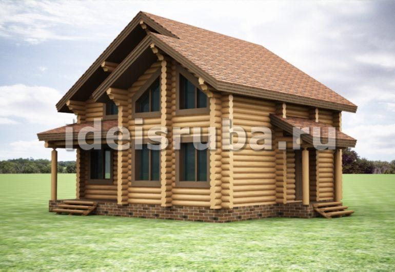Комфорт Дома из бревна