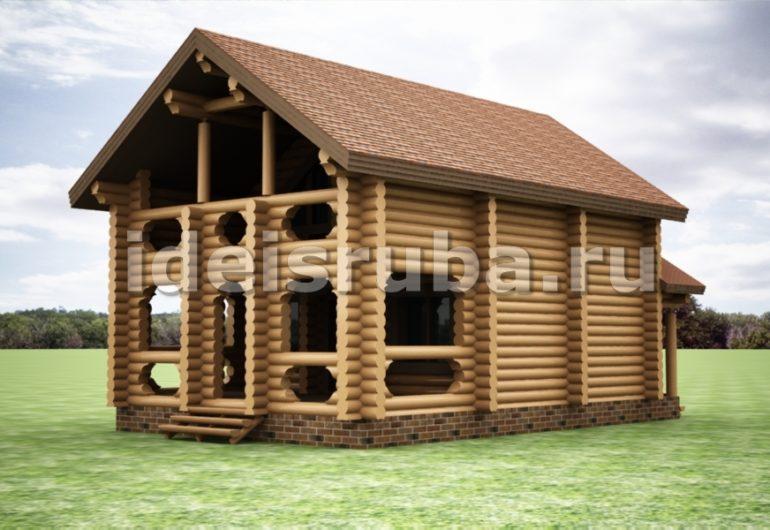 Грация Дома из бревна