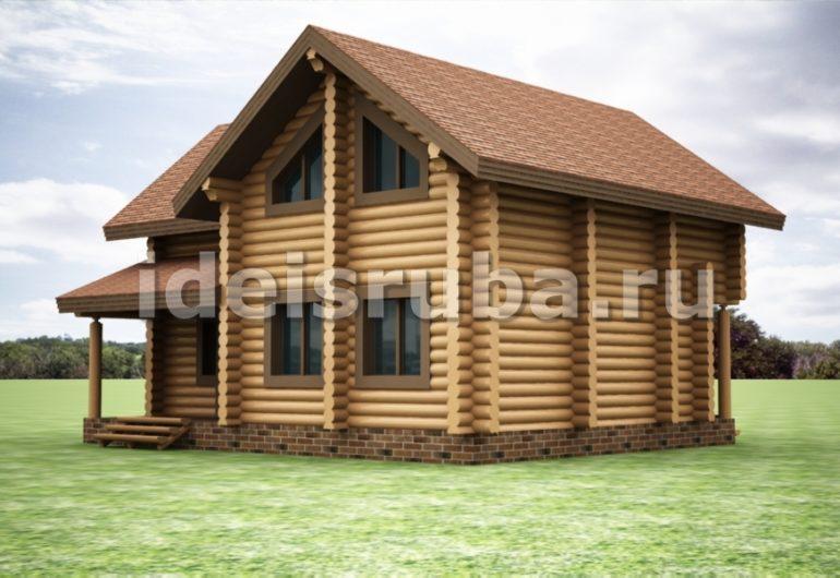 Триумф Дома из бревна