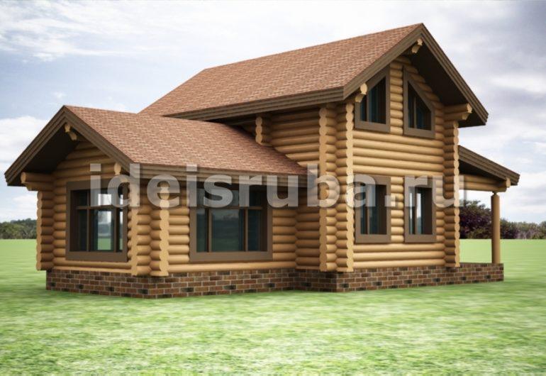 Викинг Дома из бревна