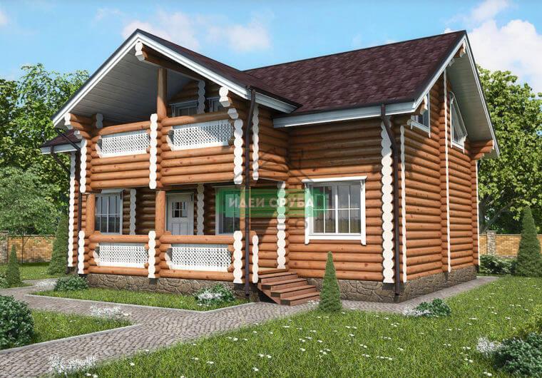 Резиденция Дома из бревна