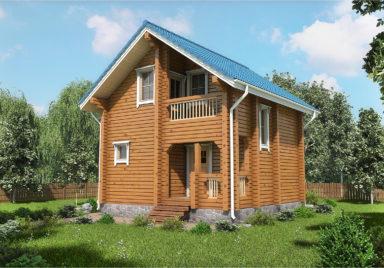 Мирный Дачные дома из профилированного бруса