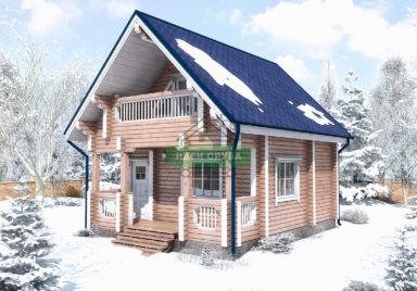 Канада Дачные дома из профилированного бруса