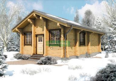 Снежная долина Дачные дома из профилированного бруса