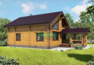 Скандинавия Дома из бруса